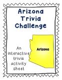 Arizona Trivia Toss-Up Activity - State Trivia