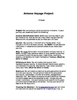 Arizona Voyage Project