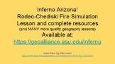 FREE Arizona Wildfire Simulation Lesson