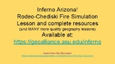 FREE Arizona Wildfire Simulation Lesson