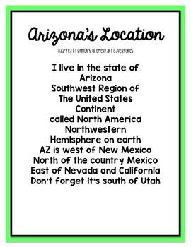 Arizona's Location Song