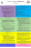 Arizona state standards 6th grade mathematics Poster (upda