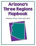 Arizona's Three Regions Flapbook