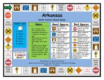Arkansas Board Game