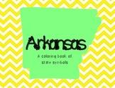 Arkansas Symbols Coloring Book