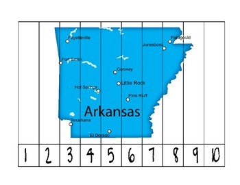 Arkansas Counting Puzzle