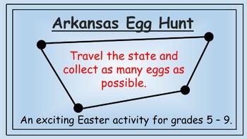 Arkansas Easter Math Activity
