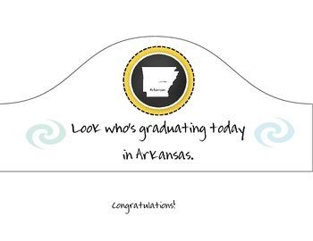 Arkansas Graduation Hat