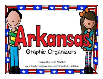 Arkansas Graphic Organizers (Perfect for KWL charts and geography!)