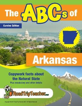 Arkansas Handwriting Printables (Cursive Edition)