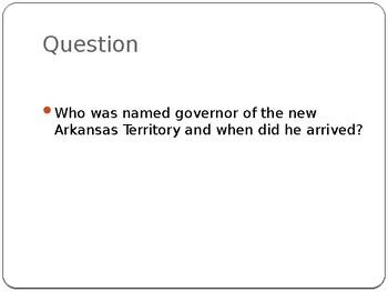 Arkansas Journey Chapter 5 Power Point