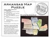 Arkansas Map Puzzle
