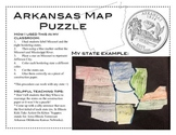 Arkansas Map Puzzle