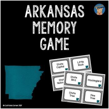 Arkansas Memory Game
