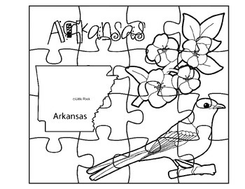 Arkansas Puzzle Set
