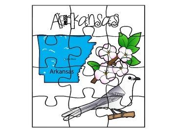 Arkansas Puzzle Set