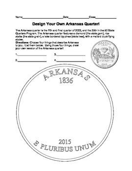 Arkansas Quarter Design