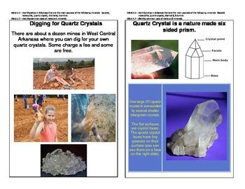 Arkansas Quartz Crystal Natural Resource