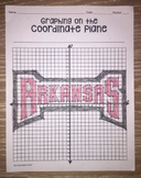 Arkansas Razorbacks (Coordinate Graphing Activity)