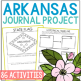 ARKANSAS History Guided Research Project, Notebook Journal