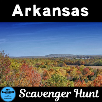 Arkansas Scavenger Hunt