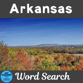Arkansas Word Search