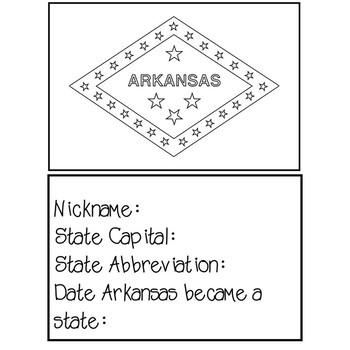Arkansas Social Studies Unit - (No Prep)