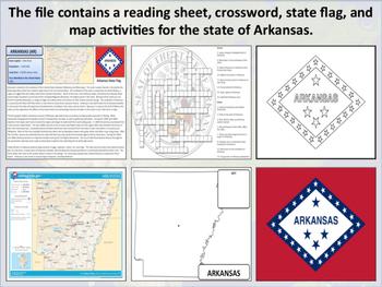 Arkansas - State Activity Set