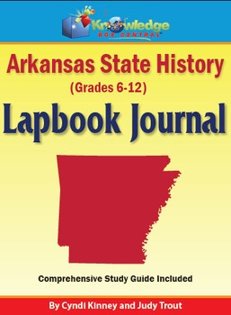 Arkansas State History Lapbook Journal