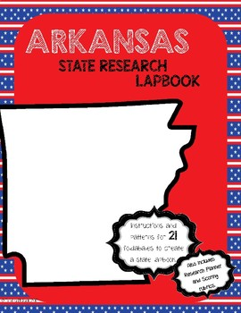 Arkansas State Research Lapbook Interactive Project