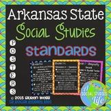 Arkansas State Social Studies Standards Posters