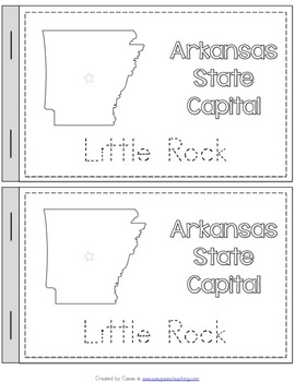 Arkansas State Symbols Notebook
