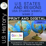 Arkansas USA Studies Weekly Week 2 US Regions