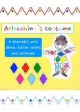 Arlecchino's Costume - A unit about Italian colors and Carnevale