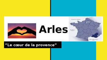 Arles:le coeur de la provence presentation
