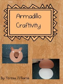 Armadillo Craftivity