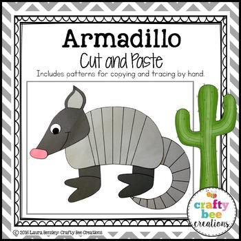 Armadillo Cut and Paste