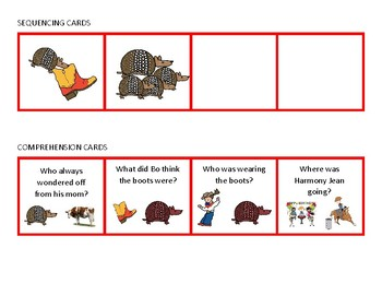 Armadillo Rodeo Book Companion and Theme Pack