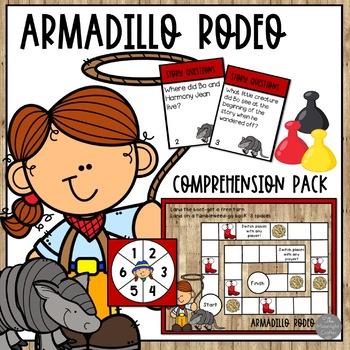 Armadillo Rodeo Comprehension Activiites