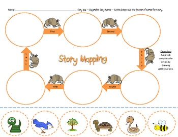 Armadillo's Orange FREE sample page from my kit