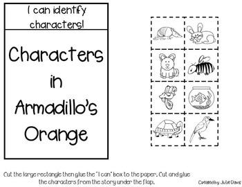 Armadillo's Orange Interactive Notebook Journal