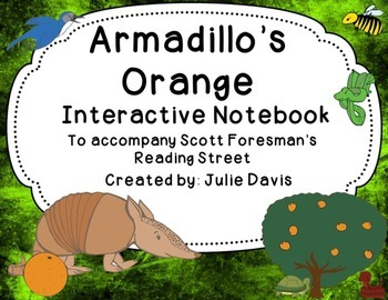 Armadillo's Orange Interactive Notebook Journal