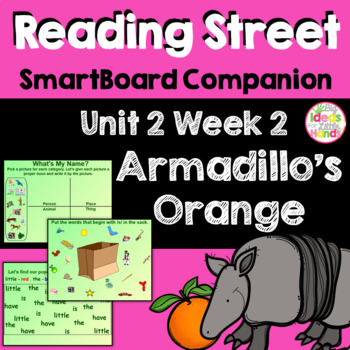 Armadillo's Orange SmartBoard Companion Kindergarten