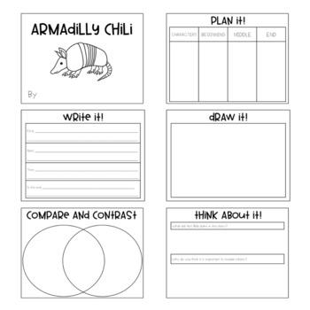 Armadilly Chili Book Activity
