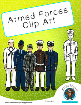 Armed Forces -Clip Art-