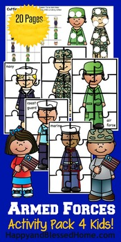 Armed Forces Activity Pack