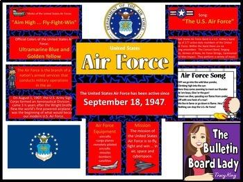 Armed Forces Bulletin Board Bundle of 5 Sets
