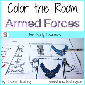Armed Forces Color the Room
