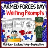 Armed Forces Day Writing Prompts {Narrative, Informative & Opinion Writing}
