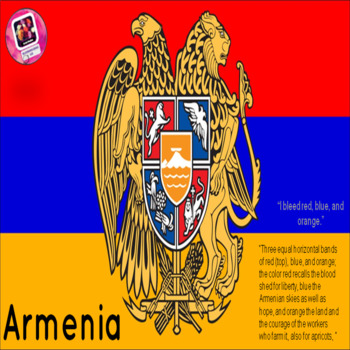 Armenia-Geographic overview of the country; graphic organizer for notes attached